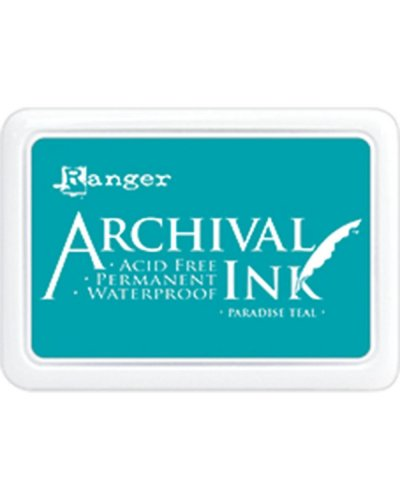 Archival paradise teal