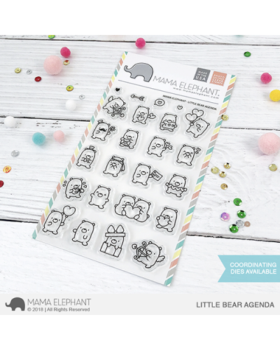 Mama Elephant sello Little Bear Agenda