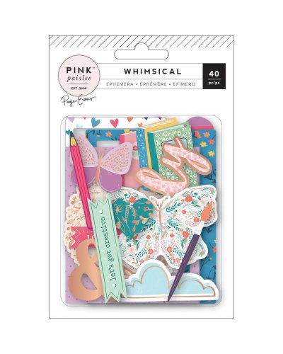 Die cuts pink paslee whimsical