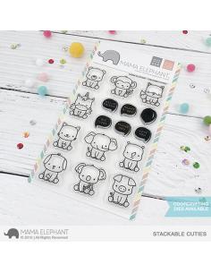 Mama Elephant sello stackable cuties