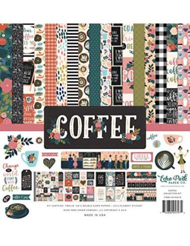 Kit 12 papeles coffee echopark