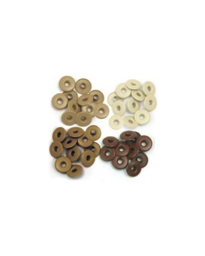 "WeR Wide Eyelets 3/16"" marrones"