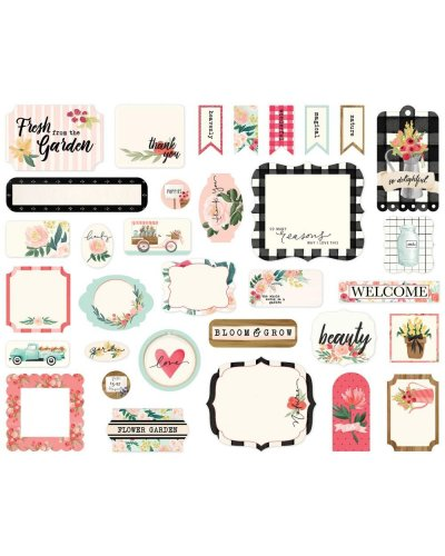 Die cuts cartabella Flower market