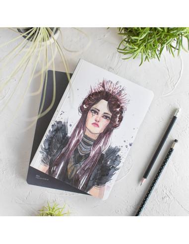 Cuaderno Bullet journal EsTher Gili, Carmen