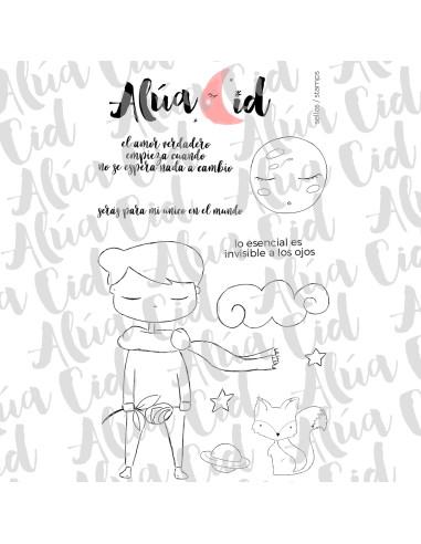 Alua Cid sello +café