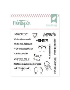 Mintopia sello Hashtags para Opositoras