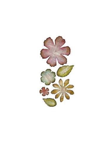 Troquel Bigz Flores desgastadas Enorme