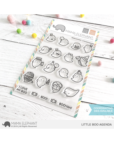 Mama Elephant sello Little Panda Agenda