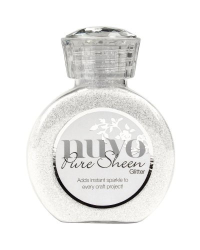 Nuvo Pure Sheen, Glitter, Ice White