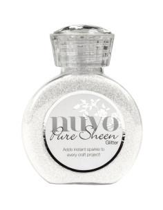 Nuvo Glitter drops Silver moondust