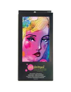 Velvet Pastel Jane Davenport, Pink Princess