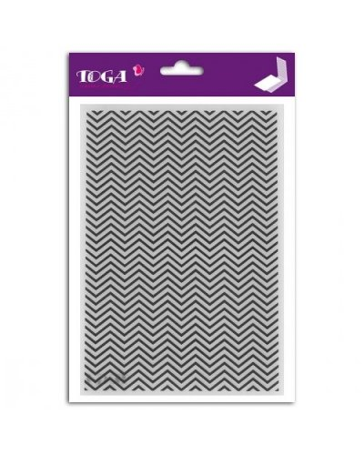 Carpeta relieve Chevrons de Toga