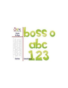 Bigz XL alfabeto Boss