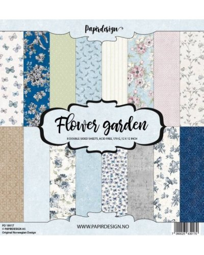 Kit Papirdesign, Flower garden