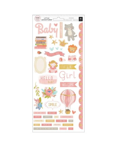 Die Cuts Pink Paisley, Little Adventurer, boy