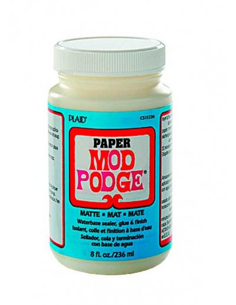 Mod Podge mate papel