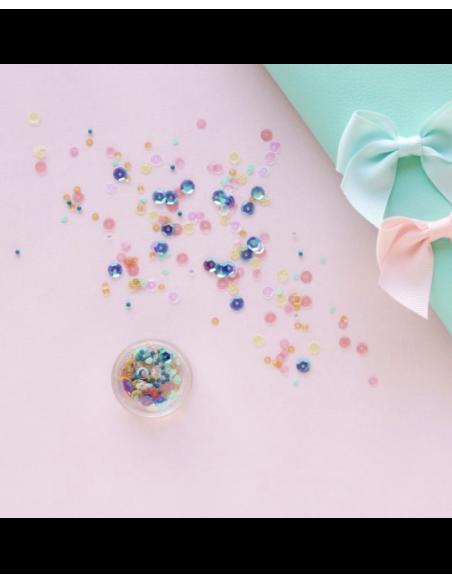 Lentejuelas y confettis