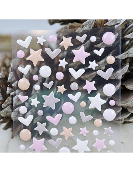 Enamels, perlas, brillantes.